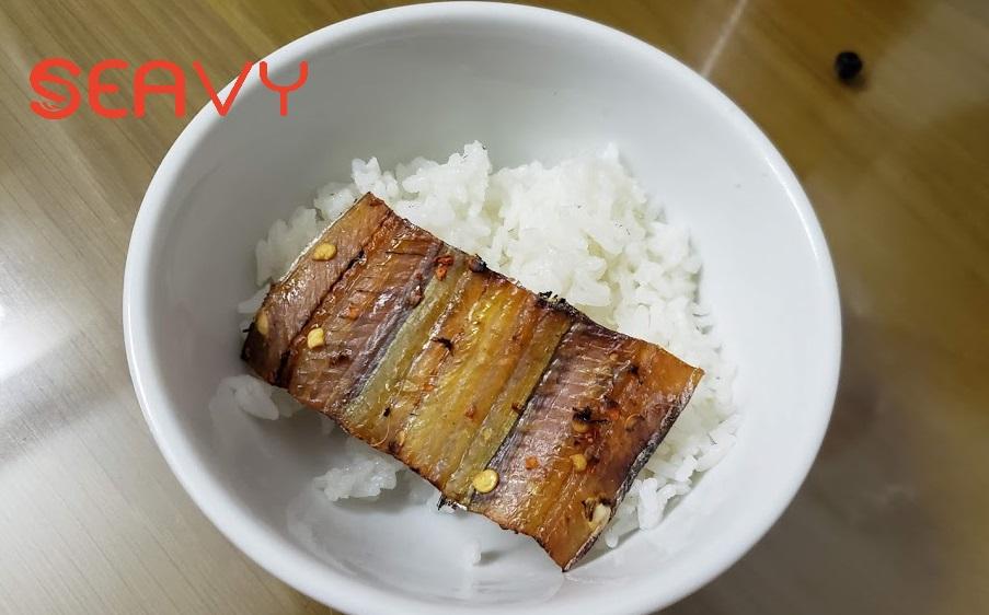 khô cá hố nướng
