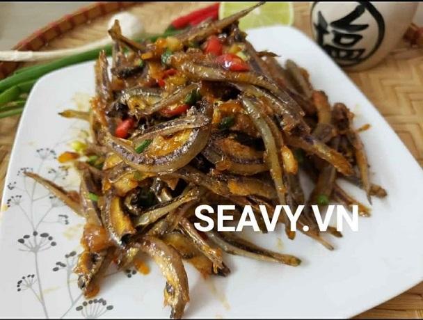 cá cơm khô nha trang